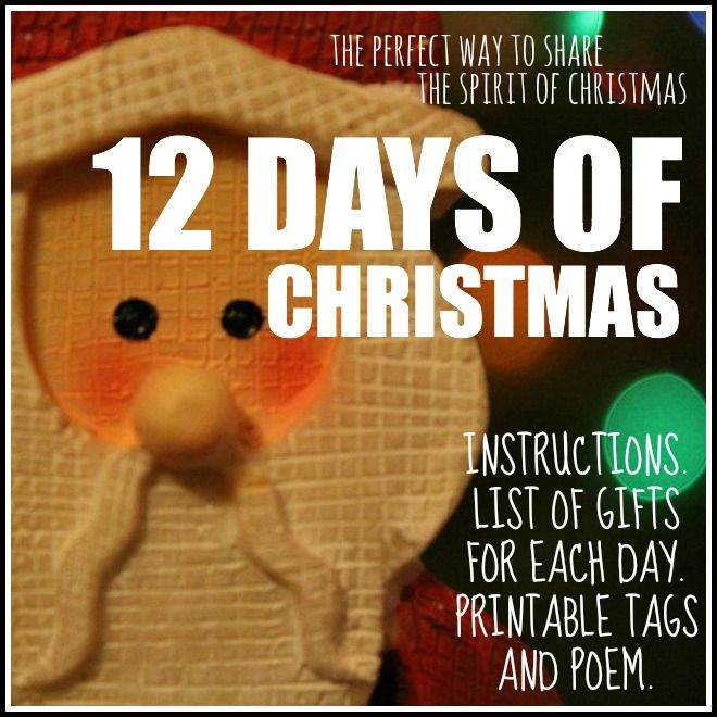 12 days of christmas craft gift ideas