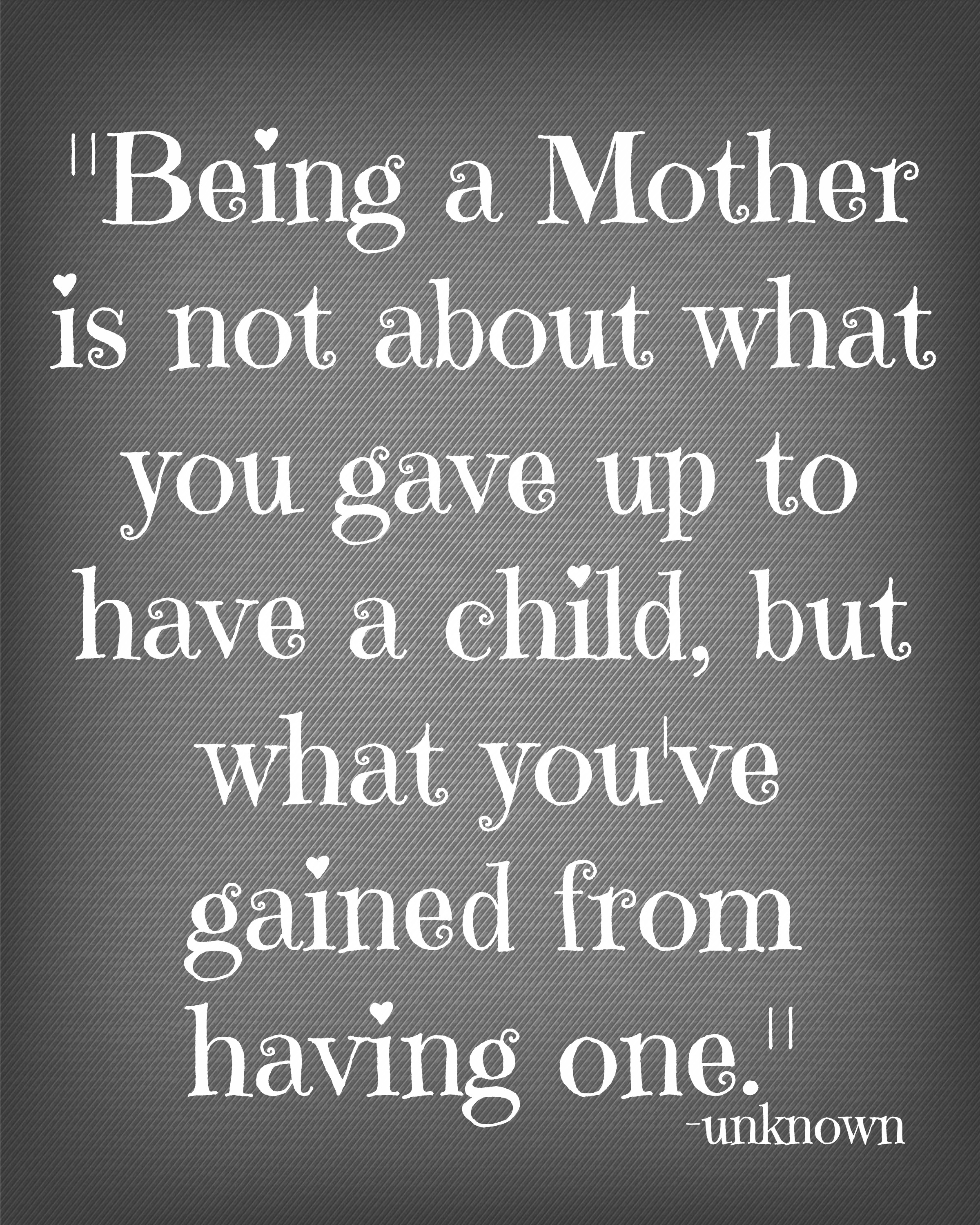 A Mothers Love Quotes Quotes That Make Me Happy  Today's The Best Day