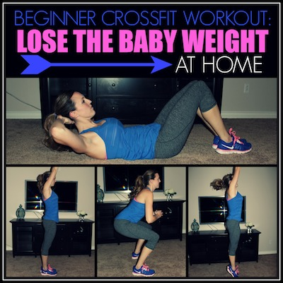 beginner crossfit workout to lose the baby weight  today