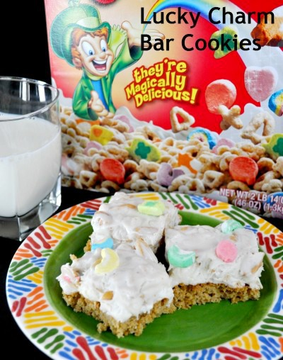 Lucky Charms Bar Cookies