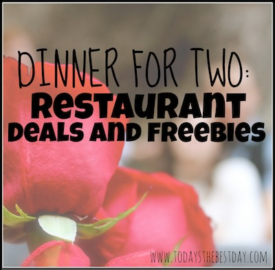 Restaurant Deals and Freebies Square