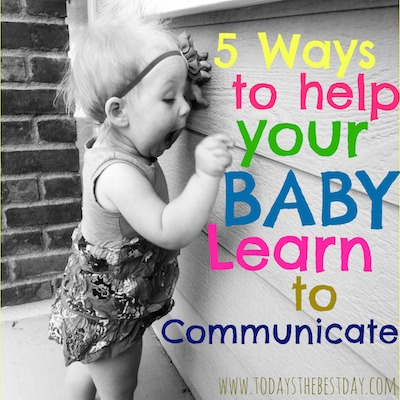 Baby Learn To Communicate