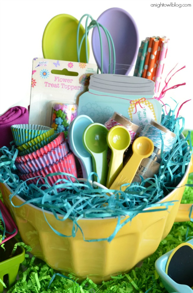 Top 15 most creative easter baskets todays the best day bakers easter basket negle Choice Image