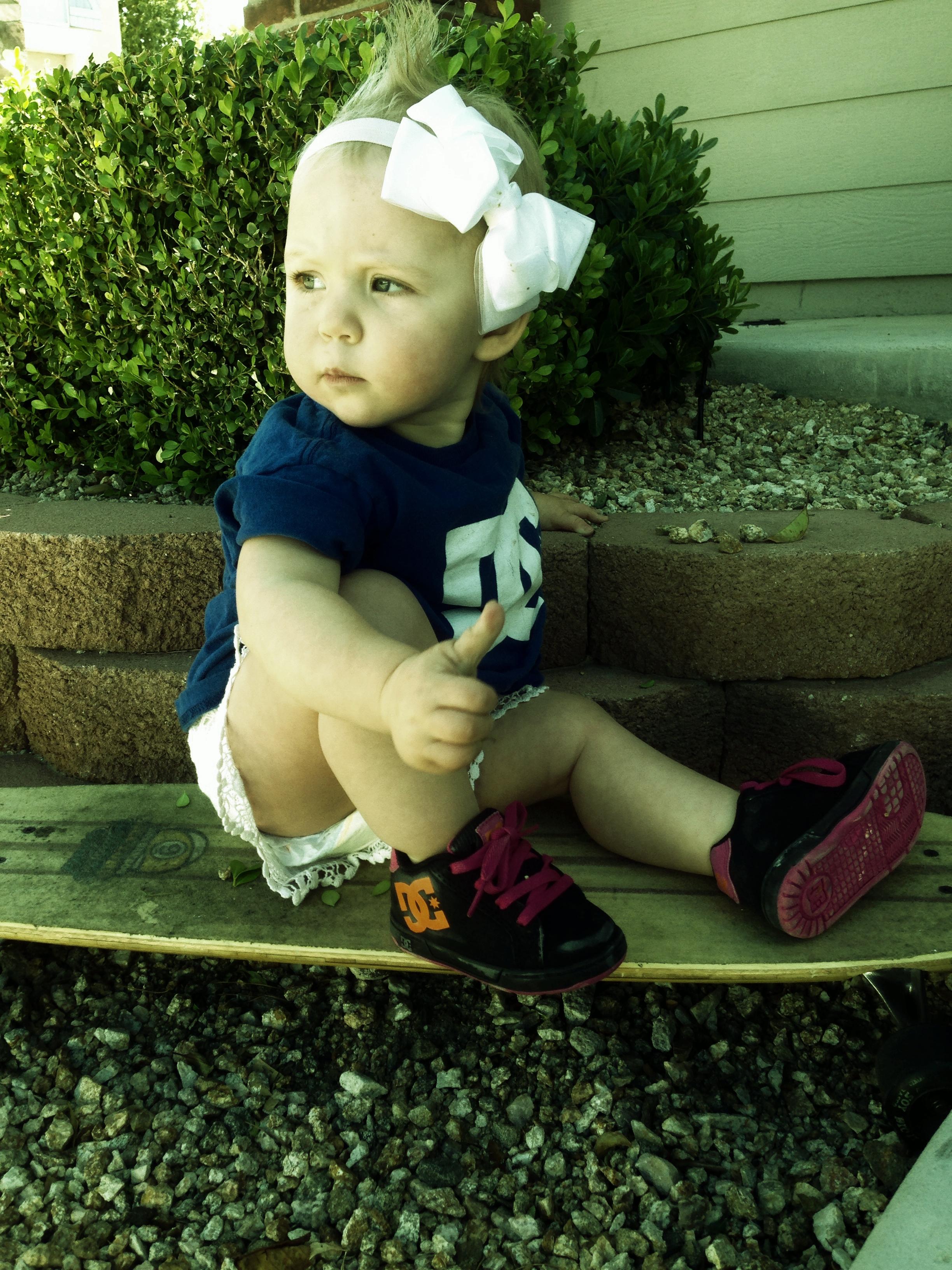 Fashion Tip #14 Daddy's Choice - Skater Girl