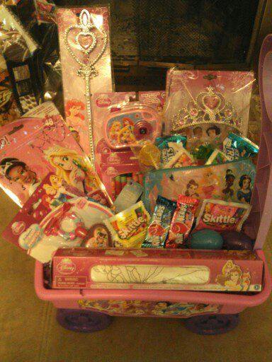 Top 15 most creative easter baskets todays the best day princess easter basket from pinterest princess easter basket negle Choice Image