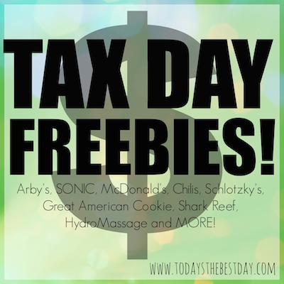 Tax Day Freebies copy