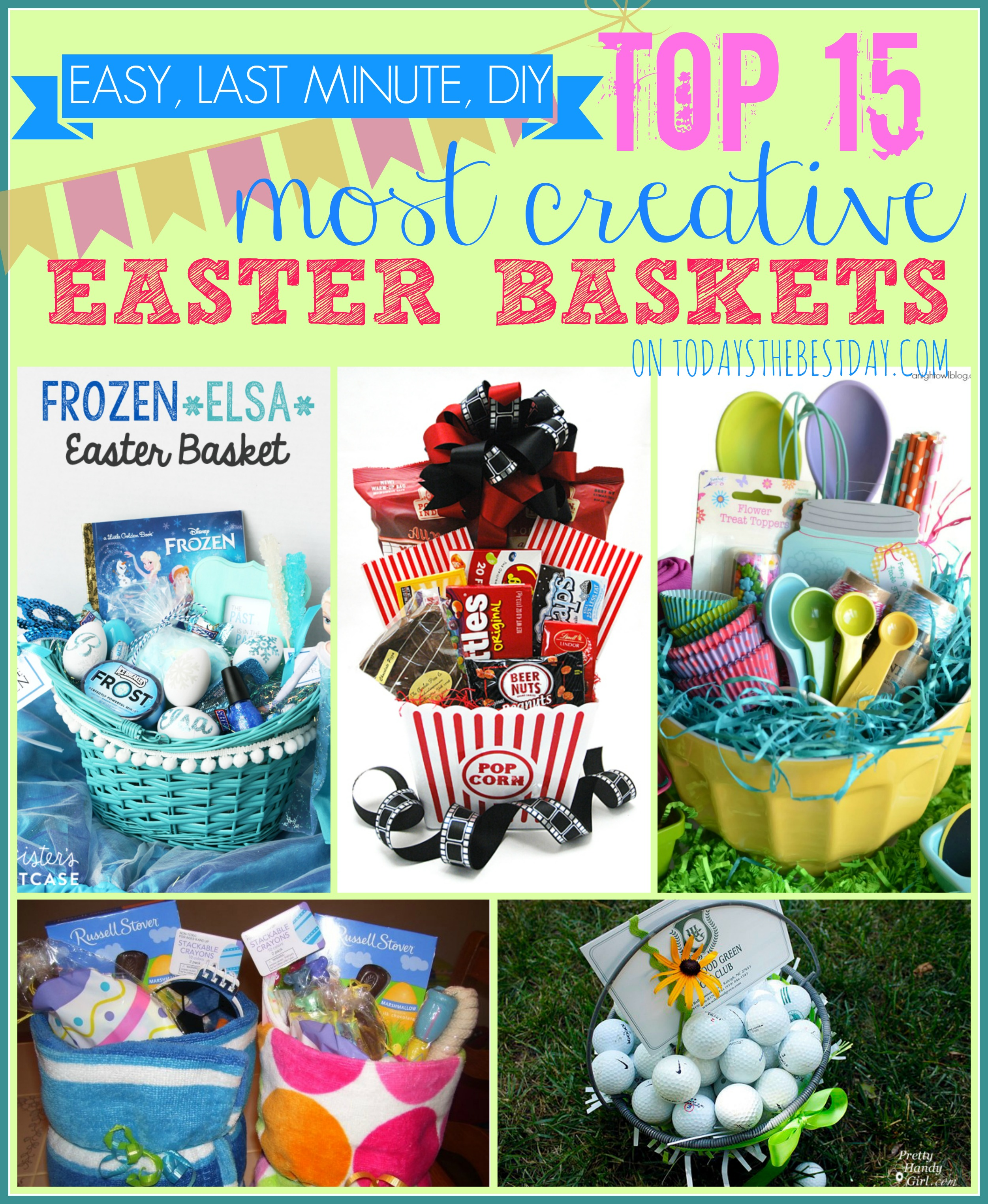 Top 15 most creative easter baskets todays the best day top 15 most creative easter baskets negle Choice Image