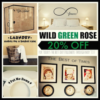 Wild Green Rose Deal of the Day  copy