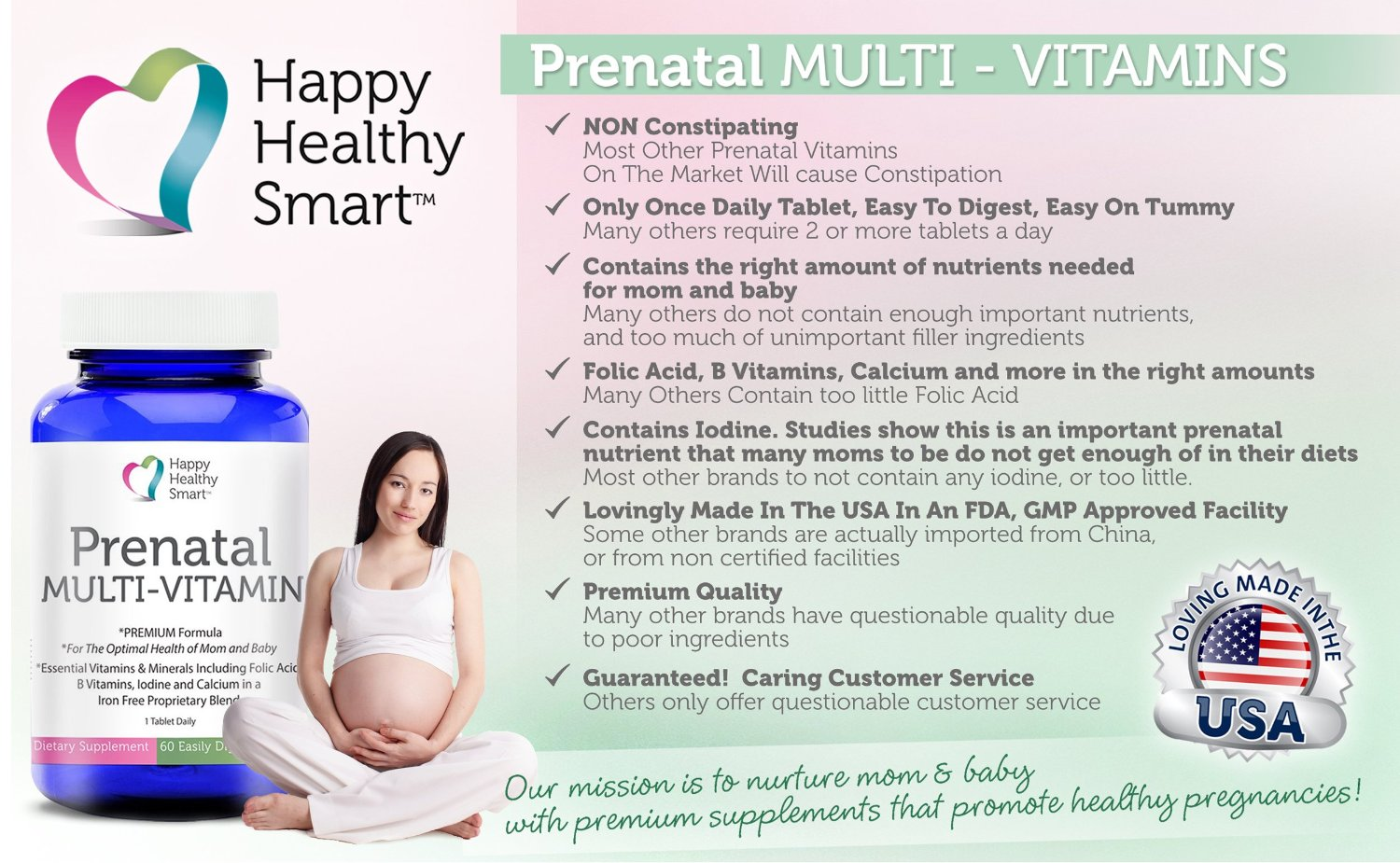 The Importance Of Prenatal Vitamins and Happy Healthy ...