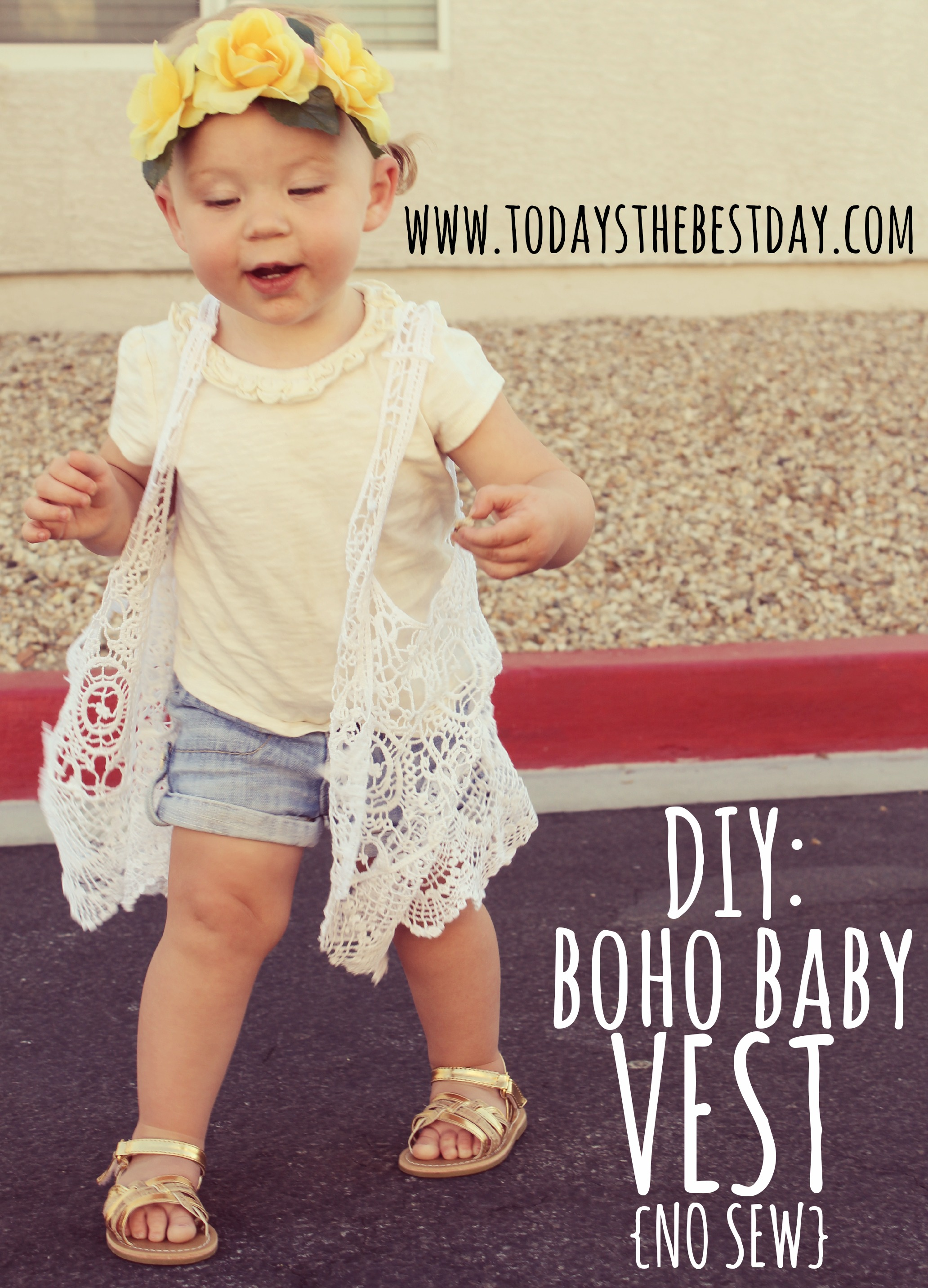 FASHION TIP 17 Boho Baby and DIY Vest Today s the Best Day