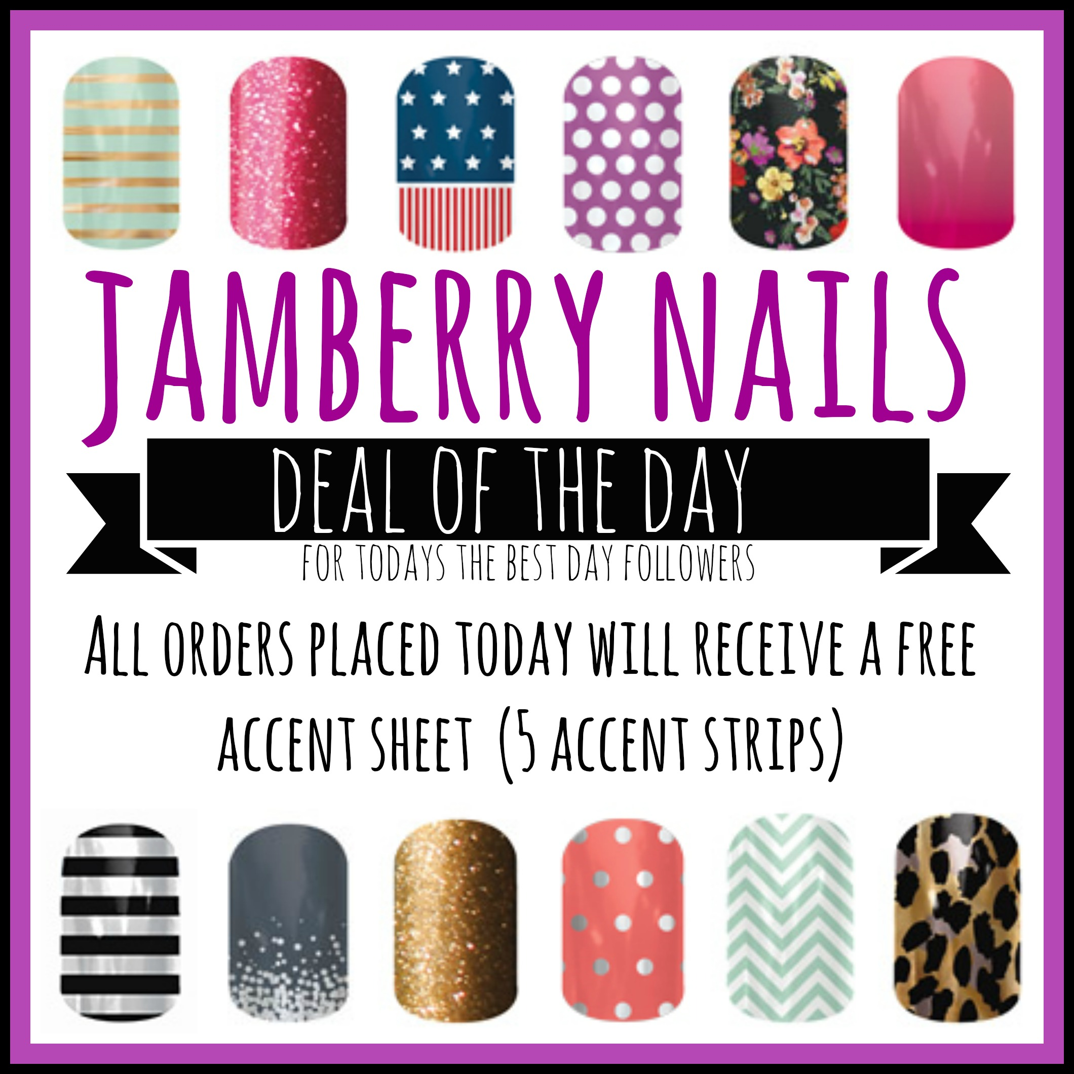 Jamberry Nails Deal of the Day - Today\'s the Best Day