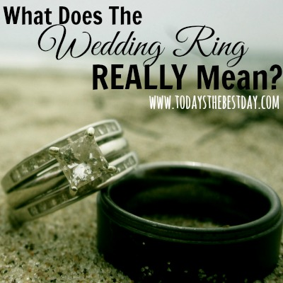 What Does The Wedding Ring Really Mean Todays The Best Day