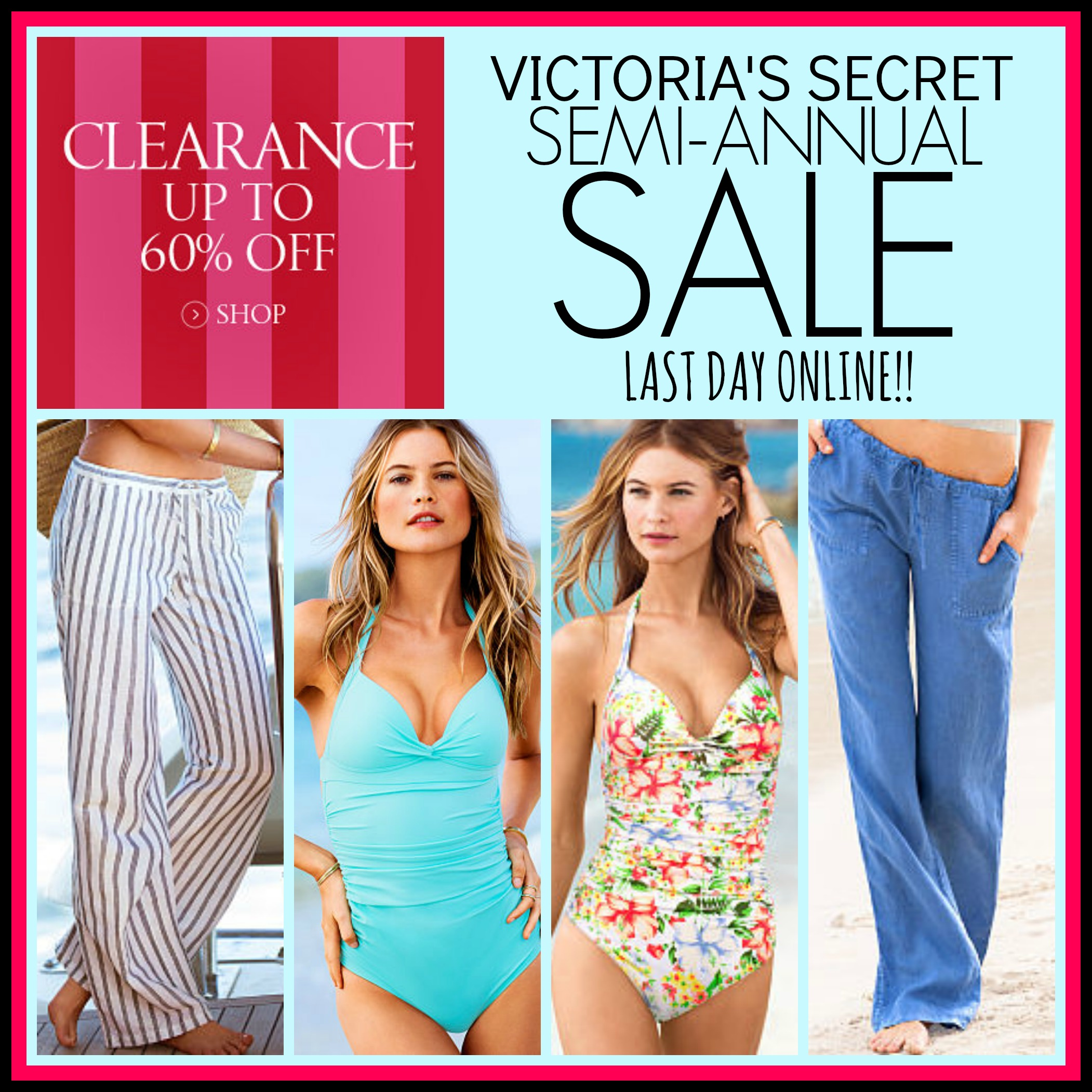 Victoria's secret is the one of most women,s undergarment store, specially for females who love to shop at Victoria Secret,this year in Victoria Secret semi-annual sale started from 10 June and another would be in month of January.