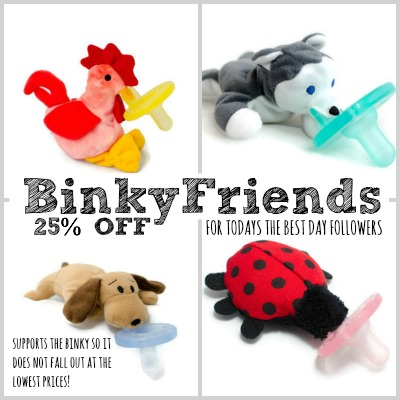 Binky Friends Deal of the Day 2