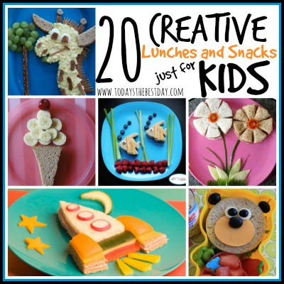 Creative Lunches and Snacks just for Kids