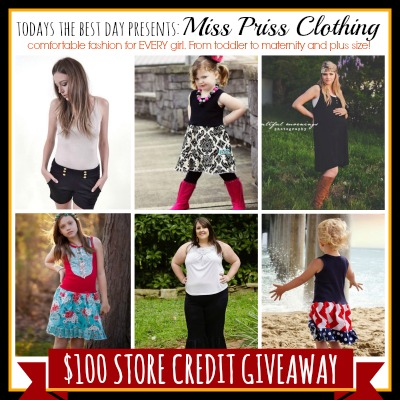 Miss Priss Clothing Giveaway 2