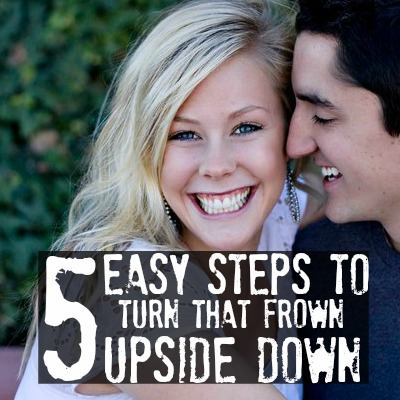 easy steps to turn that frown upside down2