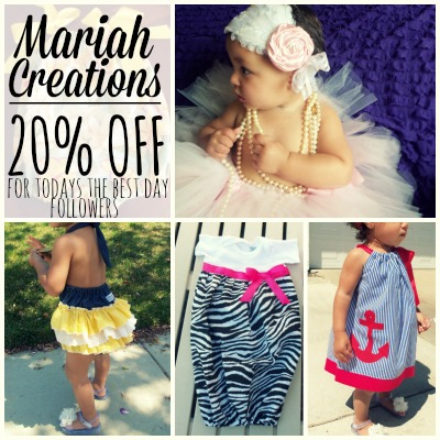 Mariah Creations Deal of the Day 2