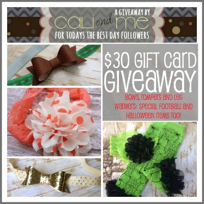 Cali and Me Giveaway 2