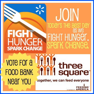 Fight Hunger. Spark Change. Food Bank and Wal Mark Campaign