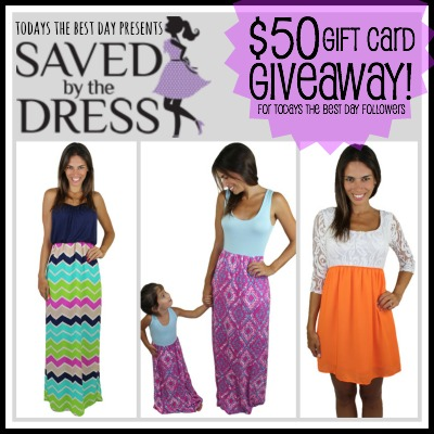 Saved By The Dress - $50 Giveaway 2