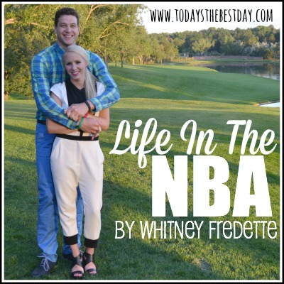 whitney and jimmer fredette - Life in the NBA as a wife