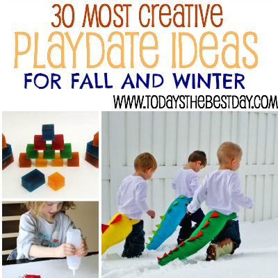 30 Most Creative Playdate Ideas For Fall and Winter 2