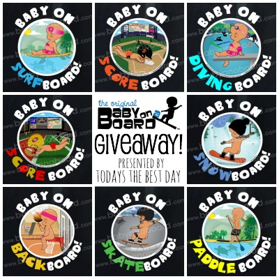 Baby On A Board Giveaway 2