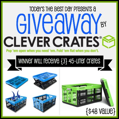 Clever Crates Giveaway 2