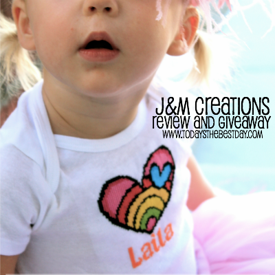 J&M Creations Review and Giveaway