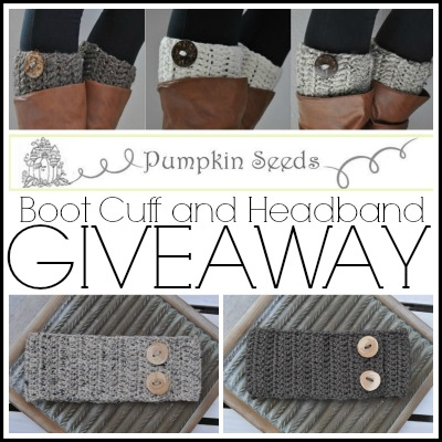 Boot Cuff and Headband Giveaway 2