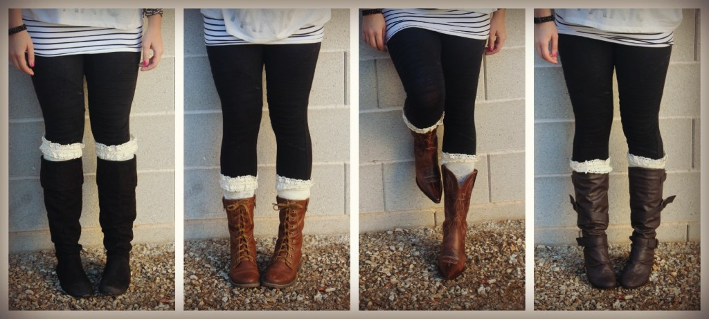 Boot Socks By Peekaboo Chic