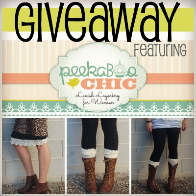 Peek A Boo CHic GIveaway 2