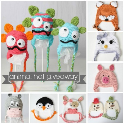 animal hat giveaway 2