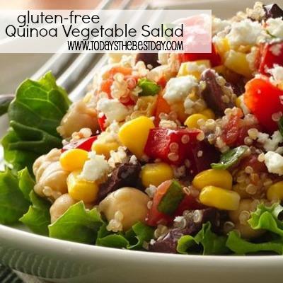 Quinoa Vegetable Salad - Gluten Free