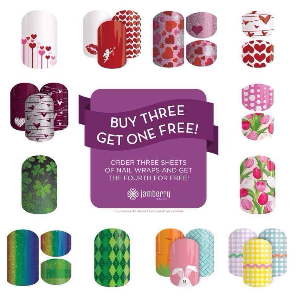 Jamberry Nails - Giveaway and Deal of the Day - Today\'s the Best Day