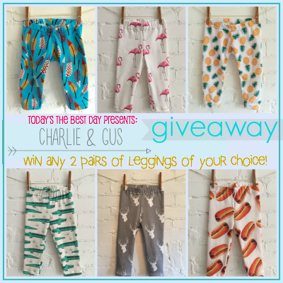Charlie and Gus Giveaway 2