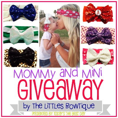 Mommy and Mini Giveaway 2