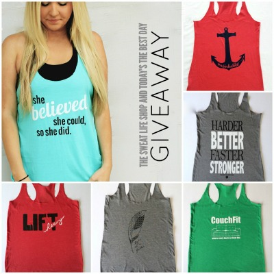 GIVEAWAY THE SWEAT LIFE SHOP 2