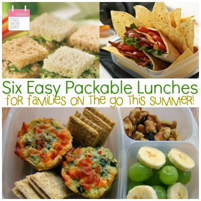 Six Easy Packable Lunches 2