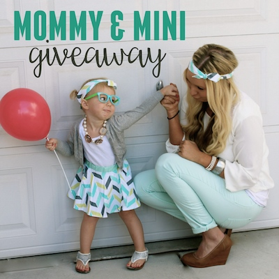 mommy and mini giveaway copy