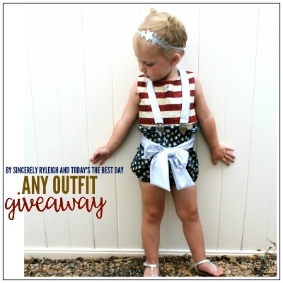 ANY OUTFIT GIVEAWAY 2