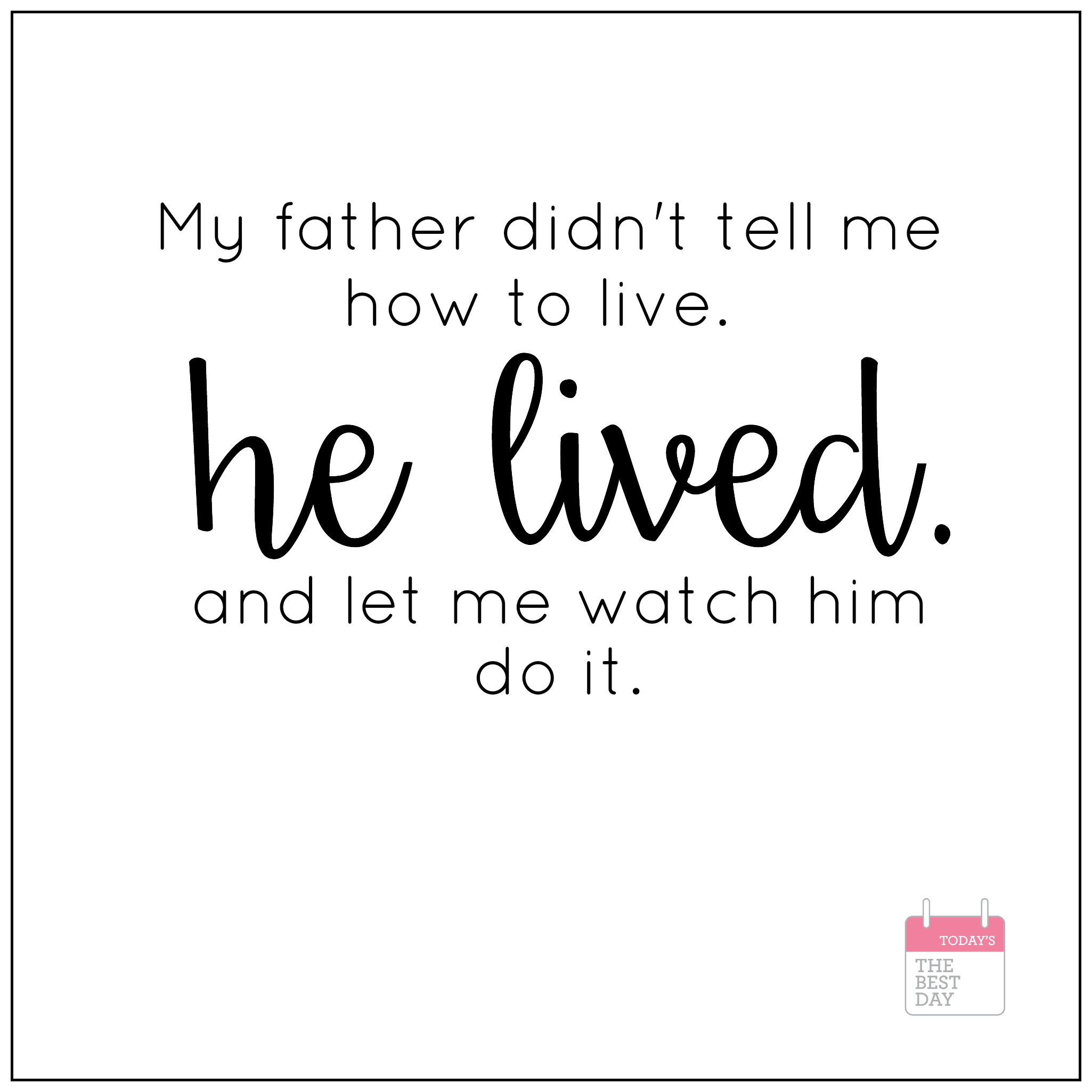 Dad To Be Quotes Pregnancy: Father's Day Quotes & Printables