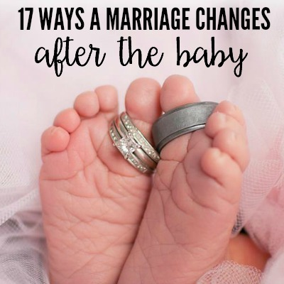 17 Ways A Marriage Changes After The Baby 5