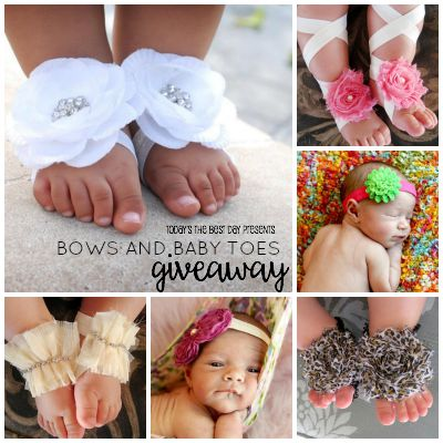 BOWS AND BABY TOES GIVEAWAY 2