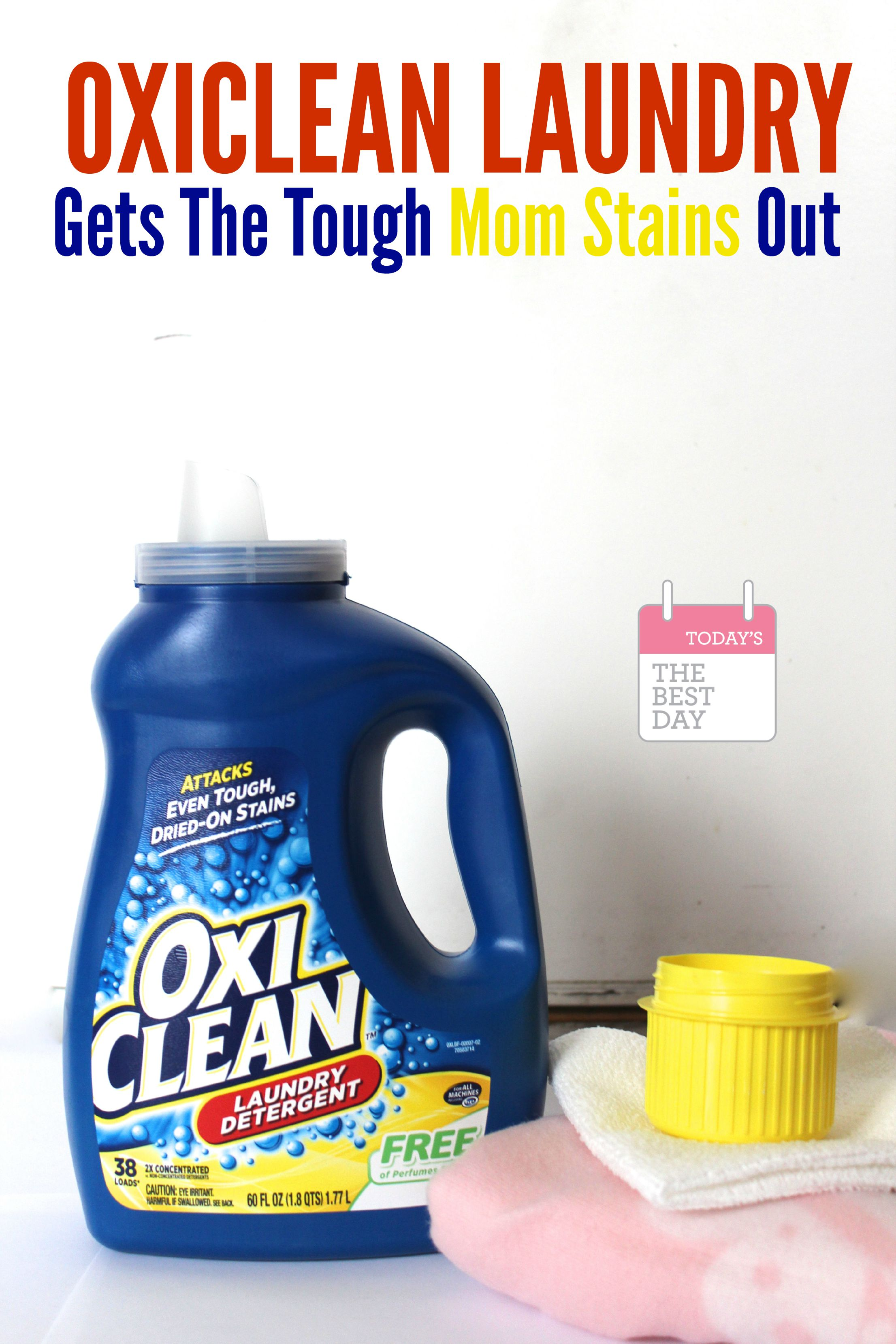 how to get detergent stains out