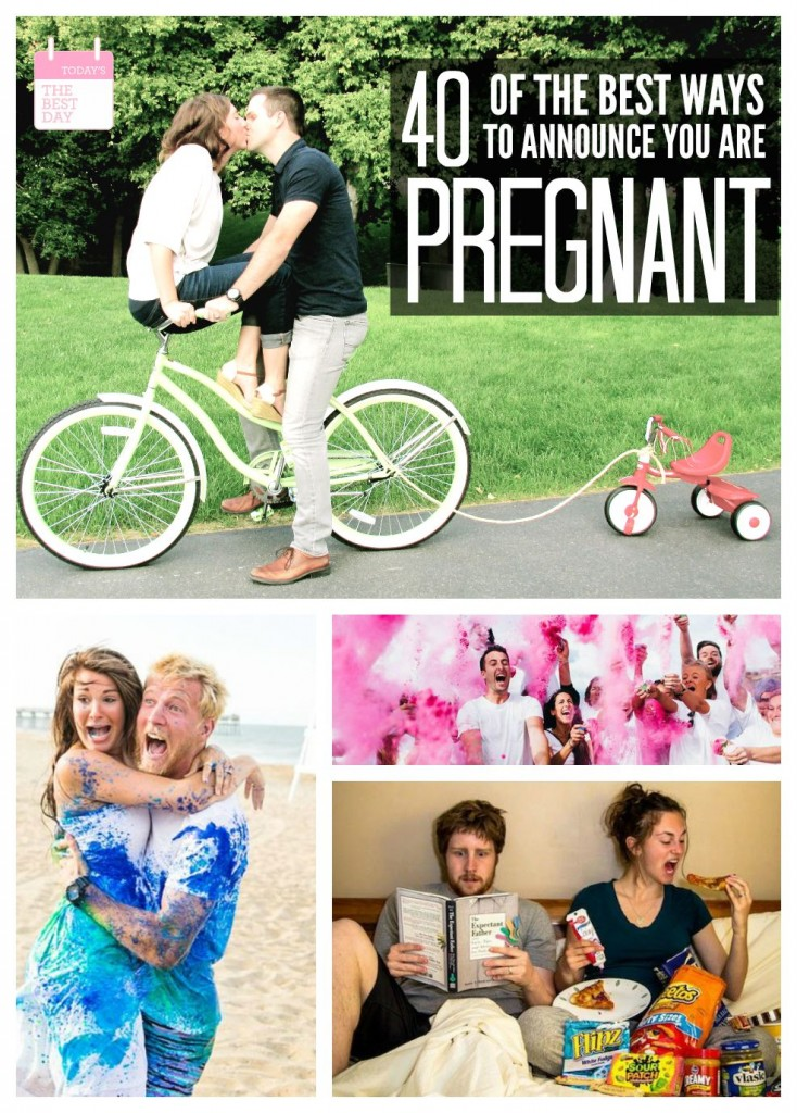 40 Of The Best Ways To Announce You Are Pregnant