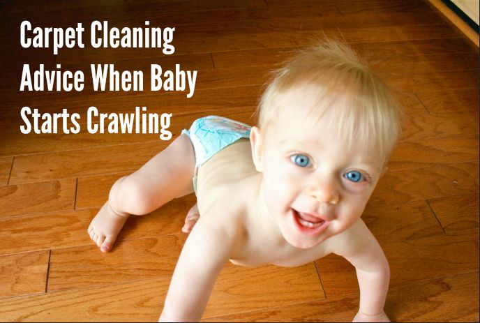 how to clean carpet for baby