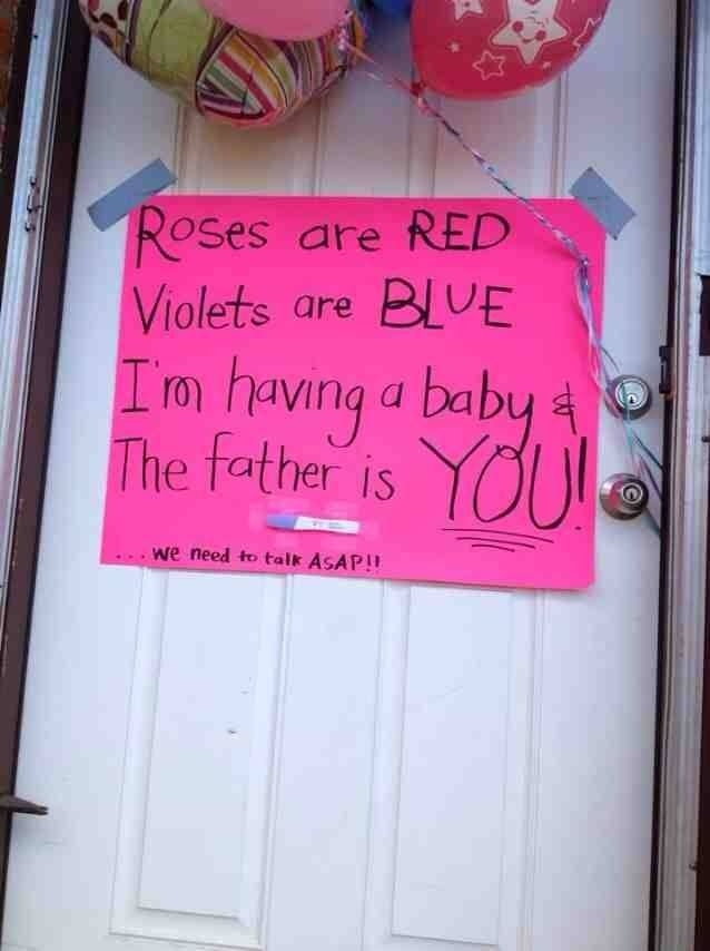 40 Of The Best Ways To Announce You Are Pregnant - Today's the Best Day