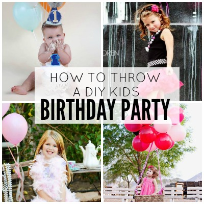 How To Throw a DIY Party! 4